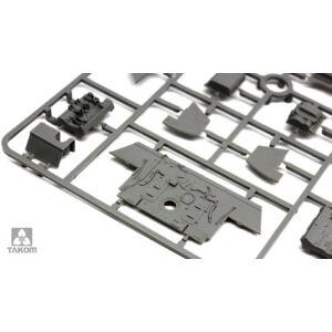 Takom Sd.Kfz.182 King Tiger Porsche Turret w/interior 1:35 (2074)