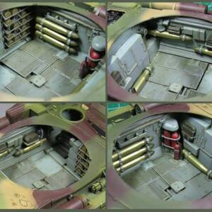 Miniart T-54-1 Soviet Medium Tank Interior Kit 1:35 (37003)