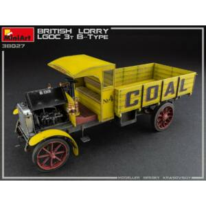 MiniArt British Lorry LGOC 3t B-Type 1:35 (38027)