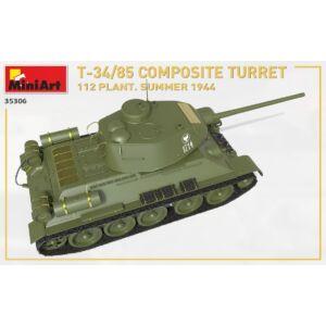 MiniArt T-34/85 Composite Turret 112 Plant. Summer 1944 1:35 (35306)