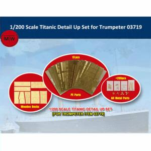 Trumpeter Titanic detail up set (for Trumpeter item 03719) 1:200 (66600)