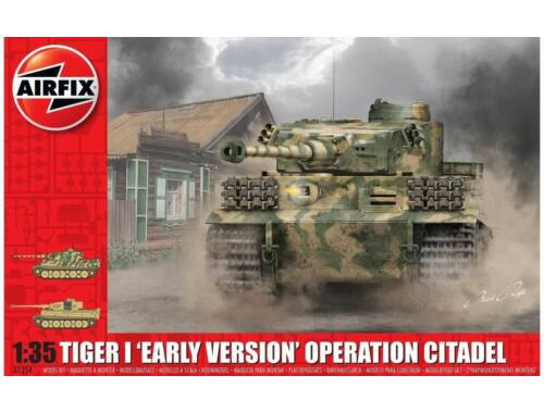 Airfix Tiger-1 Early Version-Operation Citadel 1:35 (A1354)