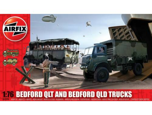Airfix Bedford QLD/QLT Trucks 1:76 (A03306)