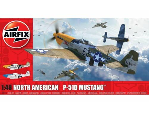 Airfix North American P51-D Mustang(Filletless Tails) 1:48 (A05138)