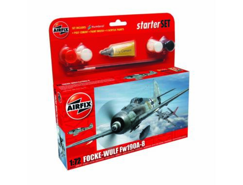 Airfix Focke Wulf 190A-8 Starter Set 1:72 (A55110)