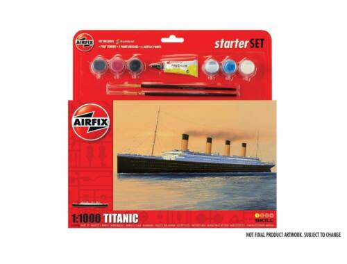 Airfix Large Starter Set- RMS Titanic 1:1000 (A55314)