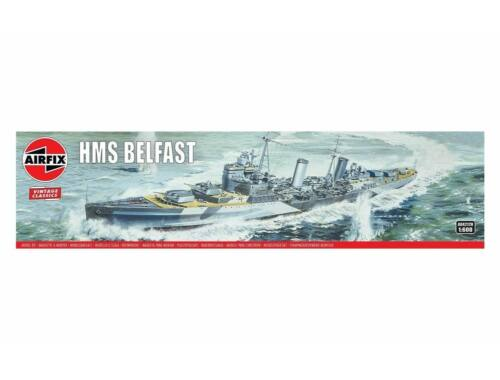 Airfix HMS Belfast, Vintage Classics 1:600 (A04212V)
