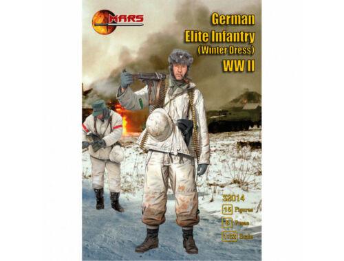 Mars German Elite Infantry (winter dress) WWI 1:32 (MS32014)