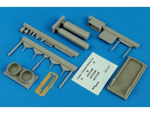 Aerobonus Oxygen/Acetylene welding cart 1:32 (320.037)