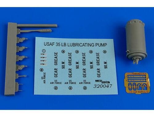 Aerobonus 35Lb. lubricating bucket pump USAF 1:32 (320.047)