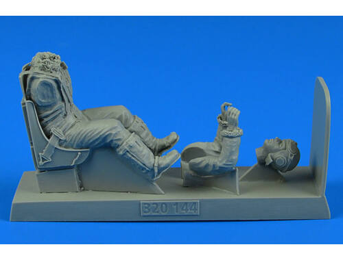 Aerobonus USAAF WWII Pilot with seat for P-51B/C Mustang for TRUM/REV 1:32 (320.144)
