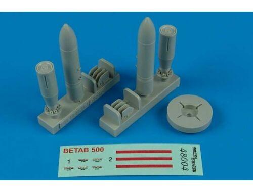 Aerobonus BetAb-500 Soviet Penetration bombs 1:48 (480.004)