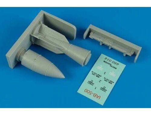Aerobonus IAB-500 Imitation Aerial bombs w/BD3-23N 1:48 (480.014)