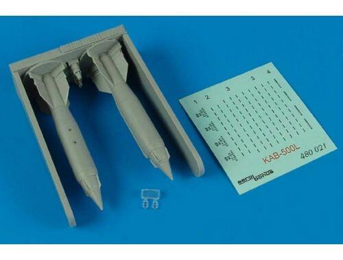 Aerobonus KAB-500L laser-guided bomb 1:48 (480.021)
