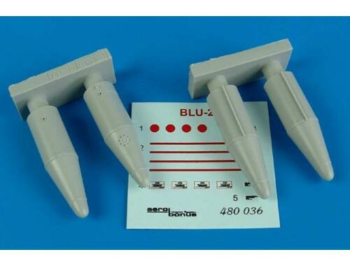 Aerobonus BLU-27 fire bomb 1:48 (480.036)