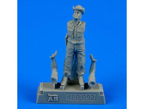 Aerobonus U.S.A.F. Maintenance crew-farm gate oper 1:48 (480.092)