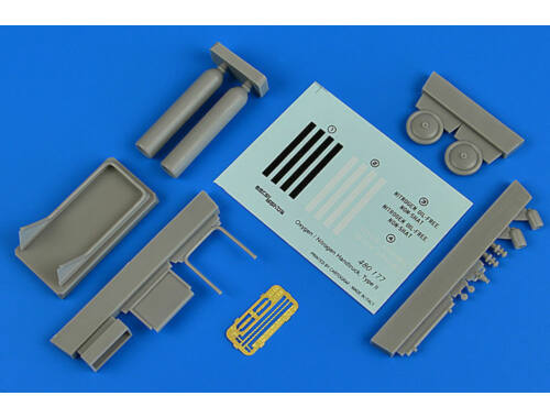 Aerobonus Oxygen/Nitrogen Handtruck type II 1:48 (480.177)