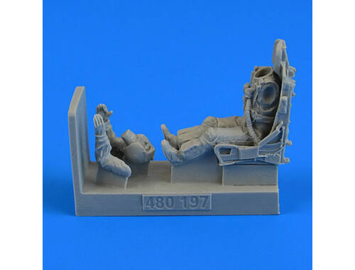 Aerobonus USAF Fighter Pilot with ejection seat for F100C/D 1:48 (480.197)