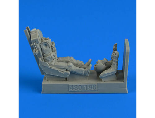 Aerobonus USAF Fighter Pilot with ejection seat for F-5E 1:48 (480.198)