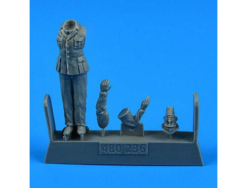 Aerobonus Kriegsmarine WWII Ceremony-Officer f.German Submarine U-Boat TypVIIC f.Trumpeter 1:48 (480.236)