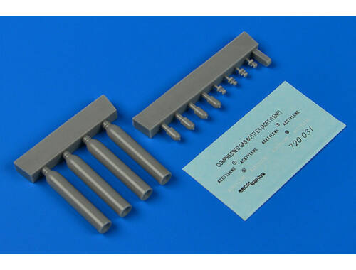 Aerobonus Compressed gas bottles- acetylene 1:72 (720031)