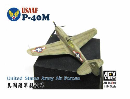 AFV-Club USAAF P40-M (United States Army Air Forc 1:144 (AR144S03)