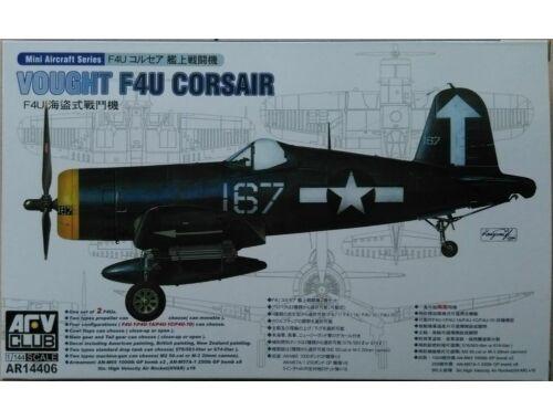 AFV-Club F4U-1/1A/1C/1D (2 kits per box) 1:144 (AR14406)