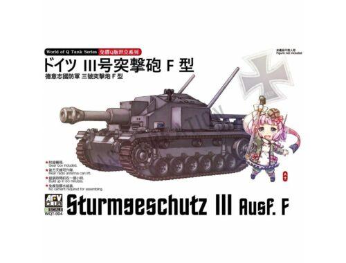 AFV-Club Sturmgeschütz III Ausf. F (Q Series kit)  (WQT-004)