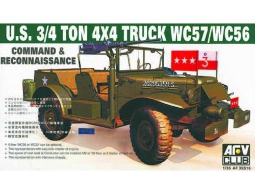 AFV-Club WC-57 4X4 DODGE COMMAND CAR 1:35 (35S16)