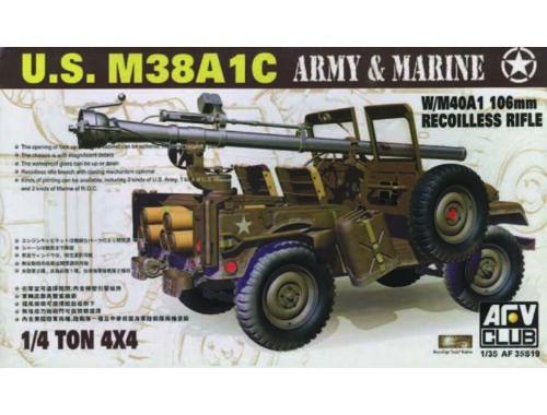 AFV-Club JEEP M38 w/106 mm GUN 1:35 (35S19)