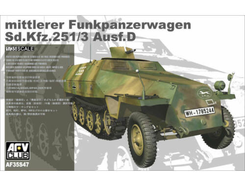 AFV-Club Sd.Kfz. 251/3 Ausf.D mittlerer Funkpanzerwagen 1:35 (35S47)