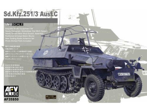 AFV-Club Sdkfz 251/3 Ausf C (limited serie) 1:35 (35S50)