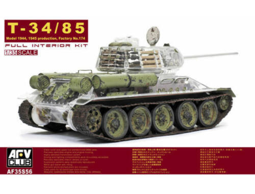 AFV-Club T-34/85 Factory 174 with trans. turret  (35S56)