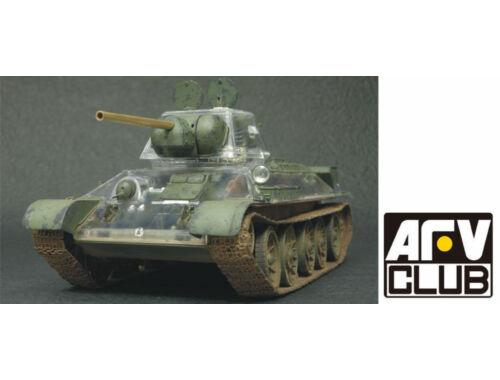 AFV-Club T34/76 1943 transparent hull 1:35 (35S57)