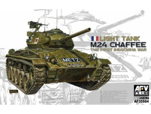 AFV-Club M24 Chaffee Light Tank the First Indochi 1:35 (AF35S84)