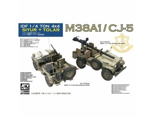 AFV-Club IDF 1/4 Ton 4x4 SIYUR and TOLAR M38A1/CJ-5 1:35 (AF35S99)