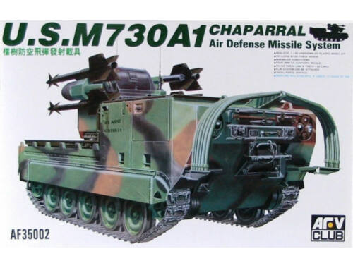 AFV-Club M730A1 CHAPARRAL 1:35 (AF35002)