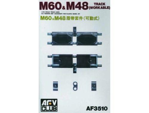 AFV-Club TRACKS T142 (M48/60) 1:35 (35010)