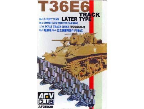 AFV-Club TRACKS M3/M5 METAL CLEAT 1:35 (35020)