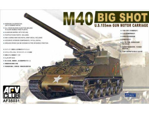 AFV-Club M40 Self-Propelled Gun (re-edition) 1:35 (35031)