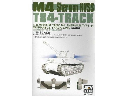AFV-Club M4 Sherman HVSS T84-Track 1:35 (35033)