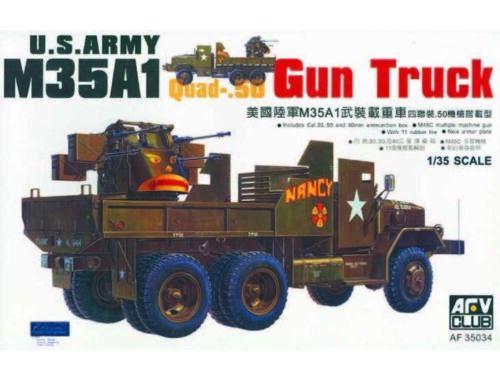 AFV-Club M35 GUN TRUCK VIETNAM 1:35 (35034)