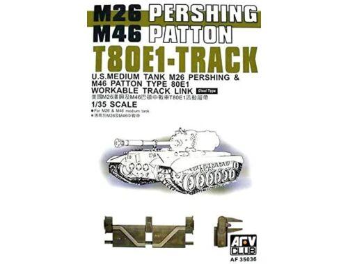 AFV-Club T-80E1 PERSHING TRACKS 1:35 (35036)