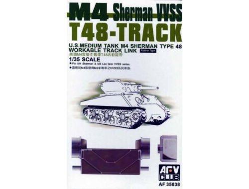 AFV-Club T-48 SHERMAN TRACKS (ARTICULATED) 1:35 (35038)