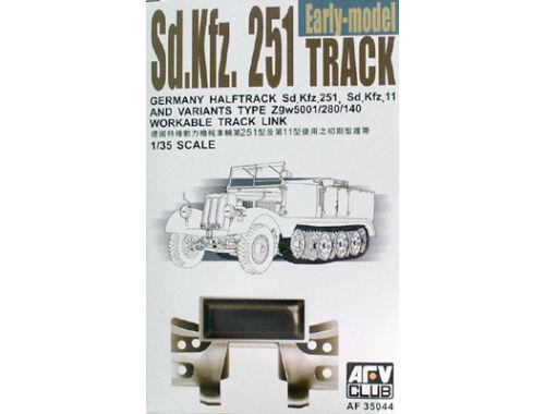 AFV-Club SDKFZ 251 TRACKS (ARTICULATED) 1:35 (35044)