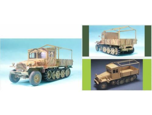 AFV-Club Sdkfz11 late version with wood cab 1:35 (35047)