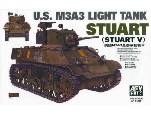 AFV-Club M3A3 STUART 1:35 (35053)