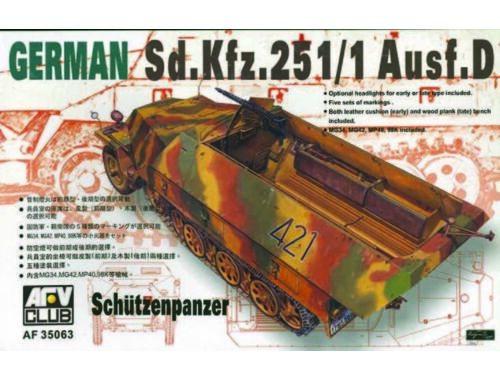AFV-Club SDKFZ 251 D/1 HALF TRACK 1:35 (35063)