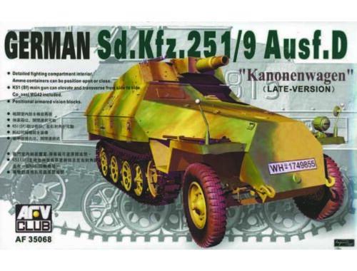 AFV-Club SDKFZ 251 D/9 75 mm 1:35 (35068)