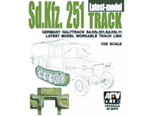 AFV-Club SDKFZ 251 TRACK FINAL TYPE 1:35 (35070)